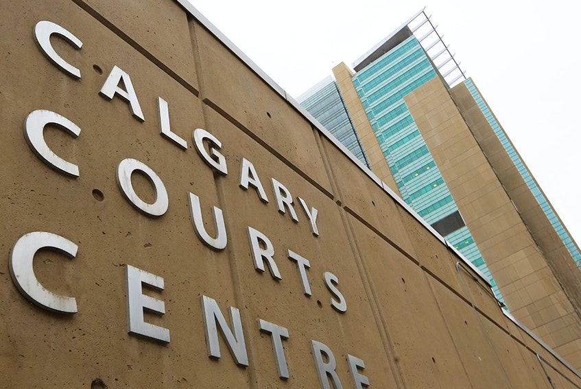 The Calgary Courts Centre, photographed on Jan. 19, 2021.