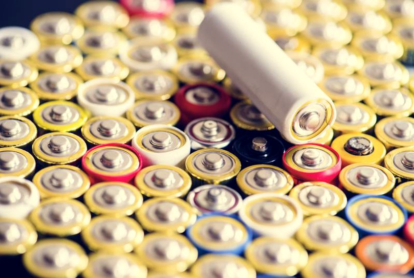 Due to their chemistries and metals, batteries require a specialized recycling process and should not be dropped in regular household recycling bins as residential recycling facilities are not designed to separate batteries from other household recyclables. - 123RF Photo.