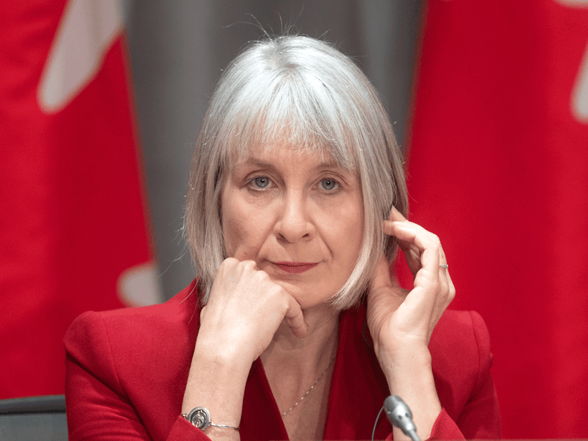 Federal Health Minister Patty Hajdu confirmed the government is working toward a multi-stage approach to reopen the Canada-U.S. border. - Contributed