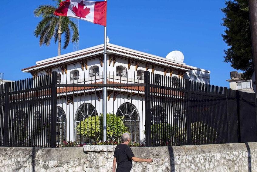 Canada's embassy in Havana.