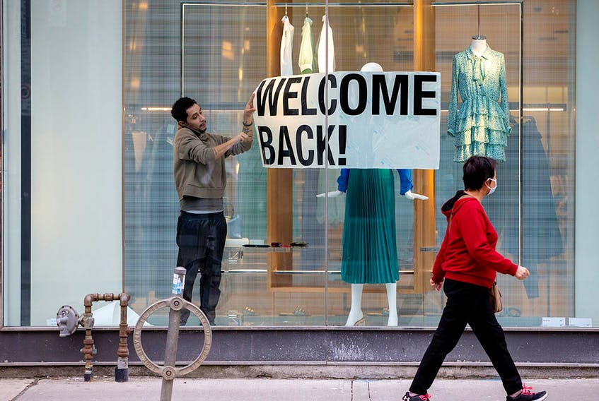"""Businesses will be enticing shoppers with deals as they reopen, but don't give in to excessive """"retail therapy."""""""