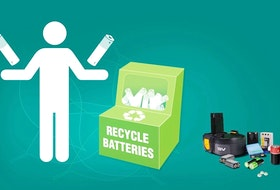 Used batteries improperly stored or thrown in the trash can spark and possibly cause a fire.