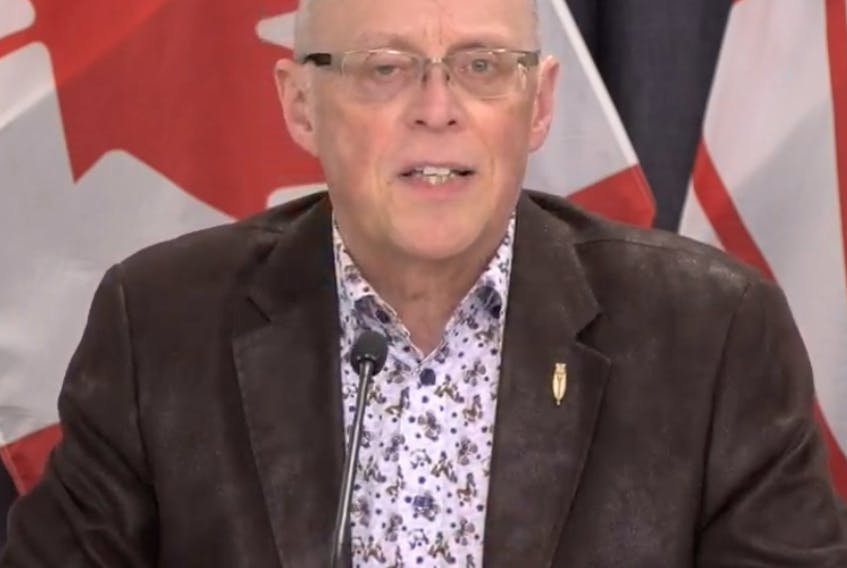 John Haggie, Minister of Health and Community Services