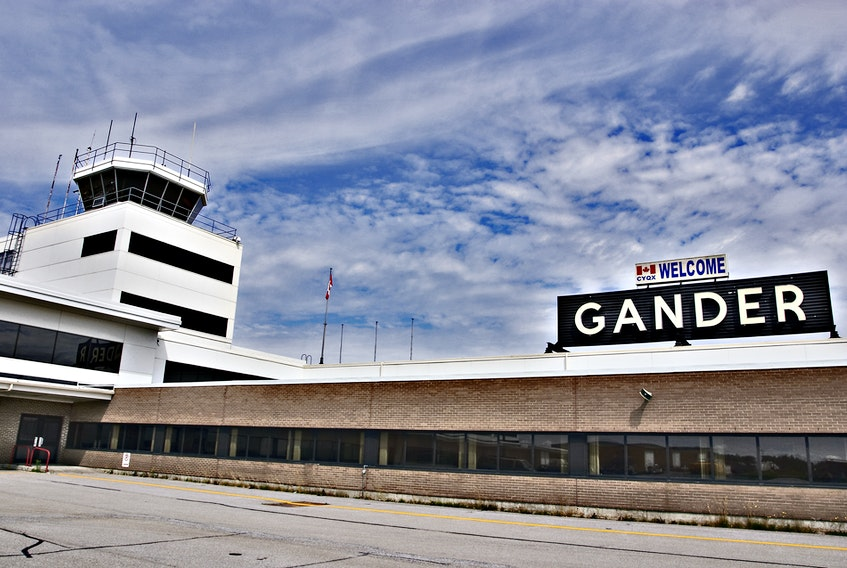 Gander International Airport. SALTWIRE NETWORK FILE PHOTO