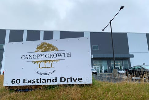 Canopy Growth has cancelled its plan to cultivate marijuana at a facility in St. John's.  Telegram file photo