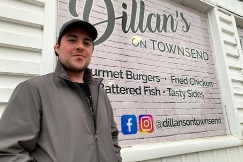 Dillan MacNeil opened his second eatery two weeks ago when he debuted Dillan's on Townsend in Sydney on Dec. 11. The 24-year-old also owns and operates Dillan's at Wentworth on George Street. CHRIS SHANNON • CAPE BRETON POST