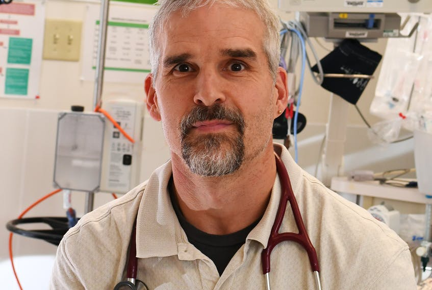 A complaint against Dr. Chris Milburn is not being pursued by the Nova Scotia College of Physicians and Surgeons. FILE