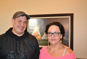 We'koqma'q councillor Wally Bernard and Chief Annie Bernard-Daisley are proud of the work they've done to address the housing shortage in their community. ARDELLE REYNOLDS/LOCAL JOURNALISM INITIATIVE REPORTER
