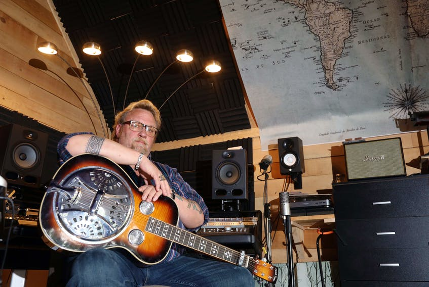 Renowned Nova Scotia singer-songwriter, multiinstrumentalist and popular performer J.P. Cormier is looking for a long-lost guitar once owned by his late brother Dave. And he's reaching out to the public for help. ERIC WYNNE/Chronicle Herald