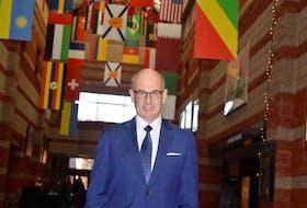 CBU president David Dingwall. NANCY KING/CAPE BRETON POST