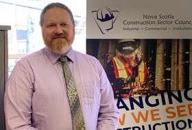 Nova Scotia Construction Sector Council executive director Trent Soholt says there's never been a better time for construction in the Cape Breton Regional Municipality. DAVID JALA/CAPE BRETON POST