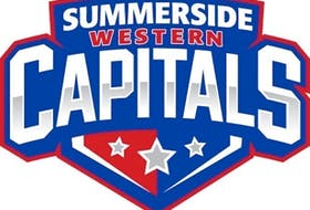 Logo of the MJHL's Summerside Western Capitals.