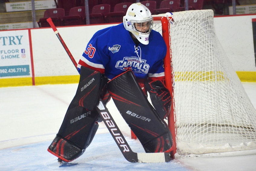 Summerside D. Alex MacDonald Ford Western Capitals goaltender Nathan Torchia made 30 saves in a 4-1 road win over the Valley Wildcats in the Maritime Junior Hockey League (MHL) on Saturday night. Torchia was selected the game's third star.