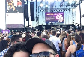 Ryan and Jessica Cholock took this picture on their first night of the Route 19 Harvest music festival in Las Vegas. The couple had flown to Nevada for their one-year anniversary to see country singer Eric Church perform.
