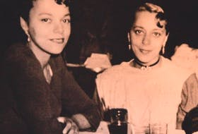A family photo of Wanda Robson and her sister Viola Desmond.