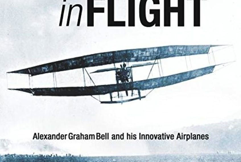Terrance W. MacDonald reads from his book 'Firsts in Flight' at the first fall session of the Governor's Book Pub in Sydney on Tuesday at 7 p.m.