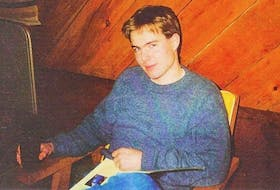 This photo of Allan Kenley Matheson was taken in the summer of 1990, two years before the Acadia University student from Glendale, Inverness Co., went missing.
