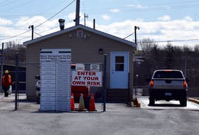 The CBRM's Spar Road waste management site has been busier than usual as residents take advantage of the landfill's recent re-opening to offload unwanted items and garbage. DAVID JALA/CAPE BRETON POST