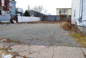 A piece of vacant land up for tender by the Cape Breton Regional Municipality. Of the 69 properties up for tender, this is the only one in Sydney. Sharon Montgomery-Dupe/Cape Breton Post
