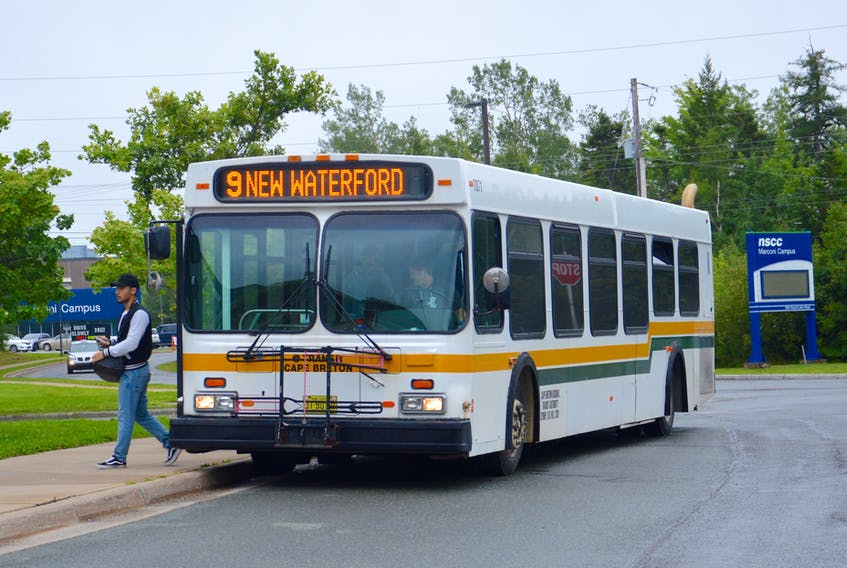 Transit Cape Breton buses are fuelled by diesel, but it's expected that will change in the future as the demand increases and the cost decreases for the electrification of public transportation fleets. DAVID JALA • CAPE BRETON POST