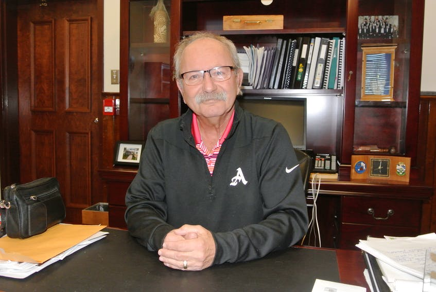 Amherst mayor David Kogon, also a doctor, emphasizes the importance of taking precautionary measures to avoid the COVID-19 virus so that the health system is not overwhelmed. CONTRIBUTED