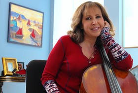 Ofra Harnoy has been playing the cello since the age of five. Her first concert was at six years old and she debuted as a soloist at the age of 10 under the conductor Boyd Neel in Toronto. After a 15 year hiatus, during which she discovered she needed reconstructive surgery on her shoulder, she returned to playing live in Nov. 2018. She now lives in St. John's with her husband Mike Herroitt. — Andrew Waterman/The Telegram