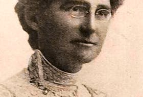 Suffragist Armine Nutting Gosling will be highlighted in many of the commemorative events, including a statue of her likeness which will be erected in Bannerman Park. -CONTRIBUTED/THE DISTAFF MAGAZINE