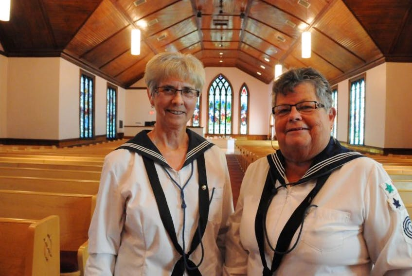 <p>Canadian Girls in Training alumni Claire Lockhart and Joyce Bridges are helping to</p> <p>organize a reunion for the organization in Summerside on Oct. 3.&nbsp;</p>