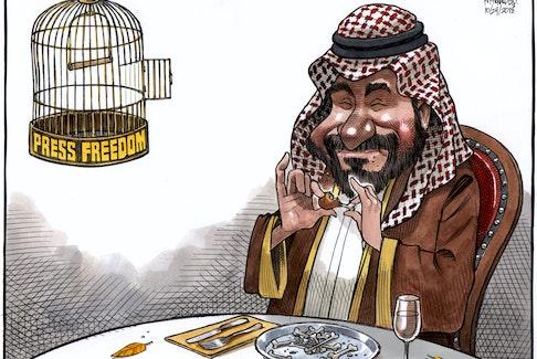 Bruce MacKinnon's editorial cartoon for Oct. 24, 2018.