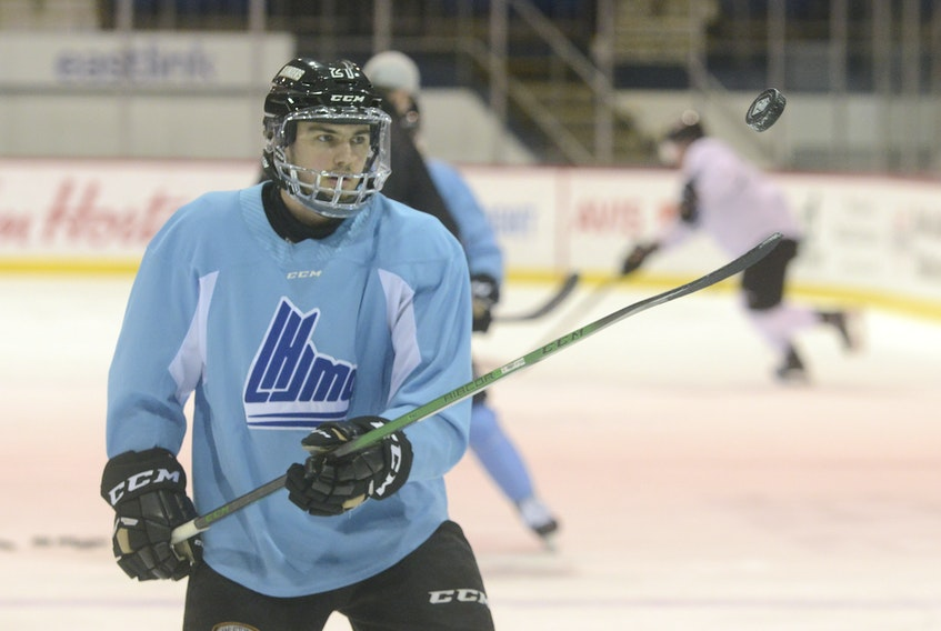 Cedric Desruisseaux has been a key to the Charlottetown Islanders' strong start to the 2020-21 Quebec Major Junior Hockey League regular season.