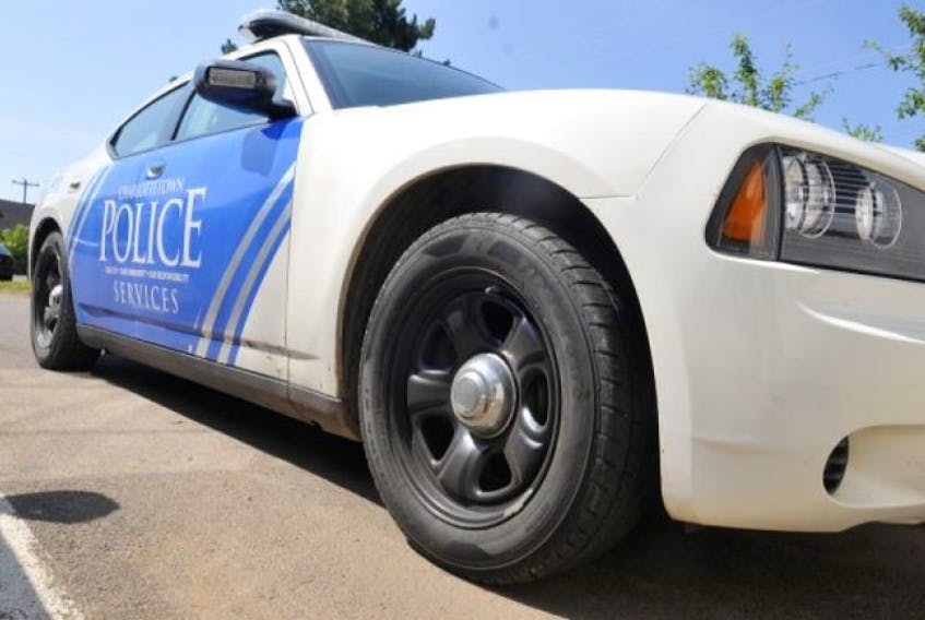 Charlottetown police cruiser. — Guardian photo