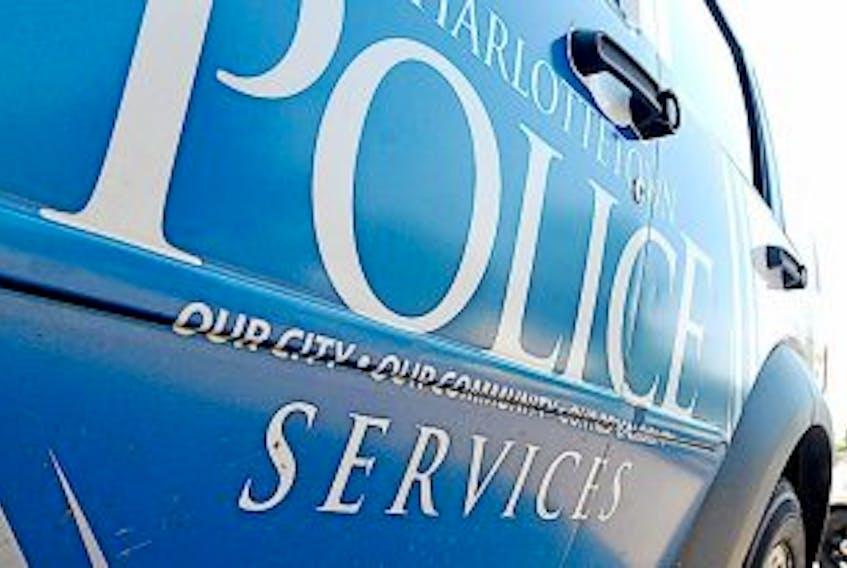 ['Charlottetown police vehicle']