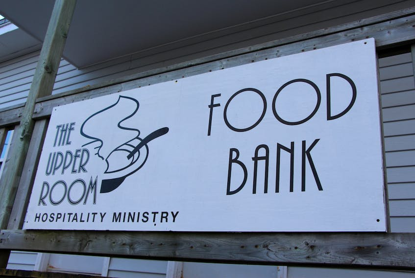 The Upper Room food bank from the outside on Belmont Street, Charlottetown. Cindy Nguyen/THE GUARDIAN.