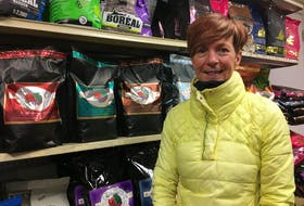 Faith Warren is manager of The Doghouse pet store on Duckworth Street in St. John's. BARB SWEET/THE TELEGRAM