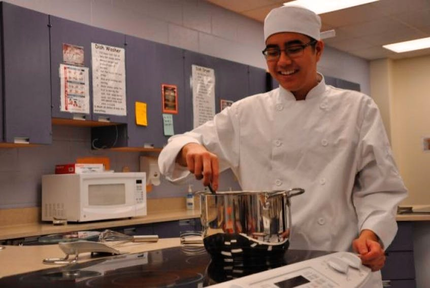 Central Kings student Lucas Hum recently represented Nova Scotia in the 21st annual Skills Canada National Competition.