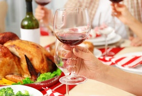Wondering what wine to serve with your holiday meal? Mark DeWolf breaks down what to look for when choosing your vintage.