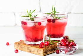 Create a perfect taste for the holidays with Christmas-themed cocktails. Additions like cranberries, pomegranates, and seasonal spices can all give a cocktail a holiday spin.