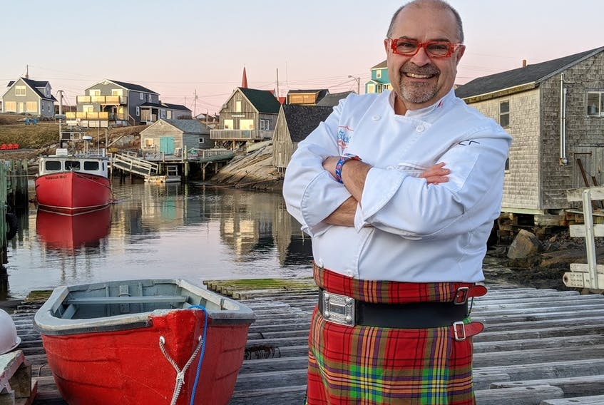 The Kilted Chef Alain Bossé says that getting creative with Christmas leftovers is a good way to ensure no food is wasted this Christmas season.