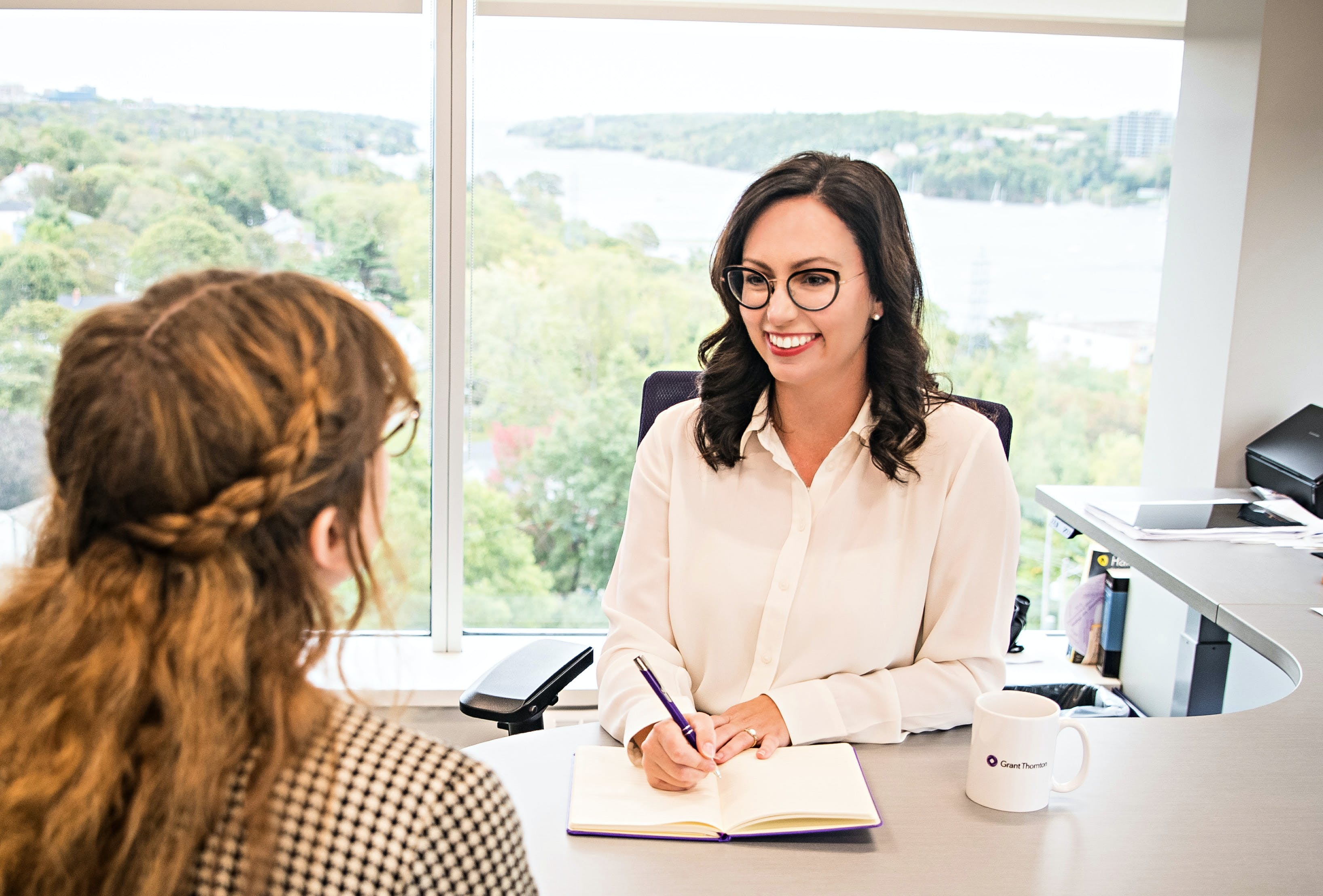 Blaire MacNeil, the senior manager at Grant Thornton Limited in Halifax, says there are many ways to save money while balancing household income and expenses.
