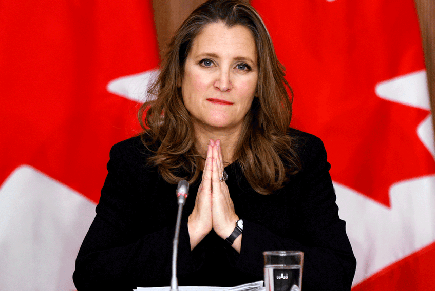 With Finance Minister Chrystia Freeland's imminent budget expected to detail how the government intends to spend the $70-$100 billion in new fiscal stimulus, it is a useful yardstick by which to judge this government.
