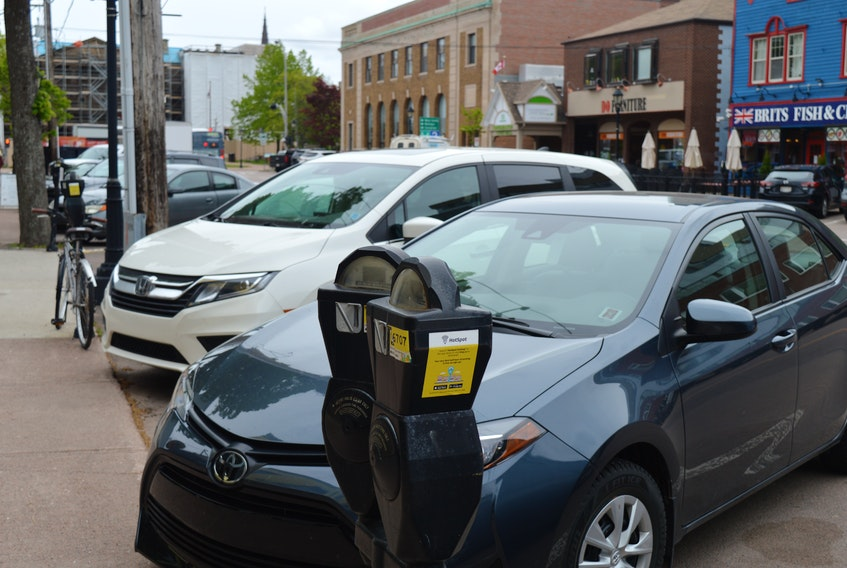 Parking will remain free in downtown Charlottetown for the month of June, both at the meters and in the Queen and Pownal parkades. The Fitzroy Parkade is currently being expanded and is closed.