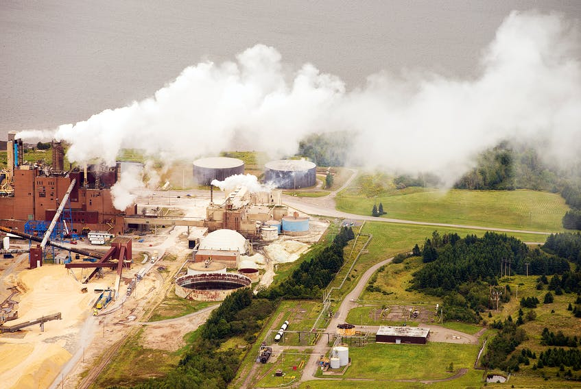 The provincial government has until Tuesday to give its decision on Northern Pulp's proposed effluent treatment plant. The mill is shown in this 2014 file photo.