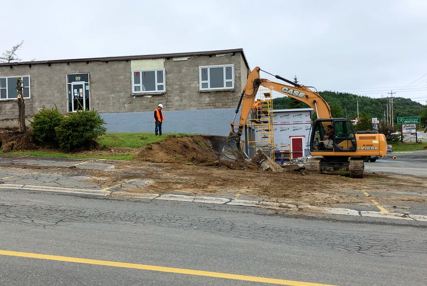 Work began earlier this week on a $2 million renovation of the Clarenville Town Hall.