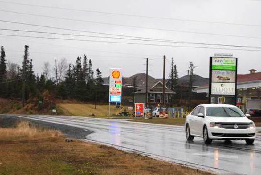 This area will be widened on Shoal Harbour Drive. FILE/THE PACKET