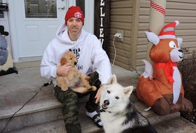 With a new Christmas single The Bells Are Ringing now available on streaming services, Enfield rapper Classified (a.k.a. Luke Boyd) looks forward to quality holiday time with his family and their pets, Nova and new pup Winston.