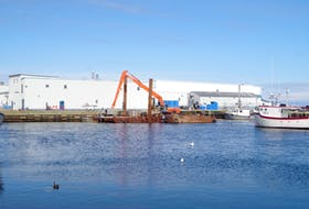 Clearwater Seafoods processes surf clams at this facility in Grand Bank, NL. The Grand Bank is one of six processing facilities operated by the company in Atlantic Canada. Clearwater also operates processing facilities in the United Kingdom, thanks to its 2015 acquisition of Scotland-based Macduff Shellfish, Europe's leading shellfish company.