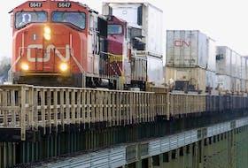 CN Rail says one of its trains derailed in northwest B.C.