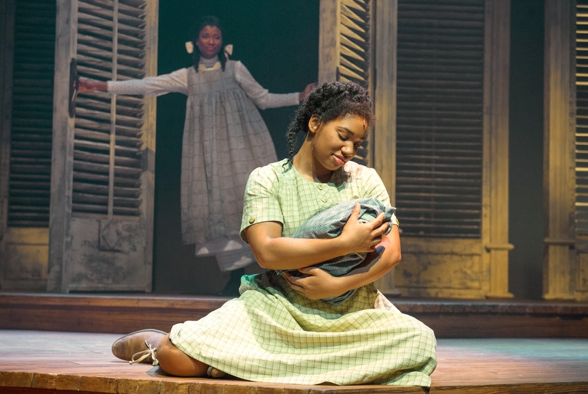 Samantha Walkes (left) and Tara Jackson perform in The Color Purple at Neptune Theatre. Ryan Taplin - The Chronicle Herald