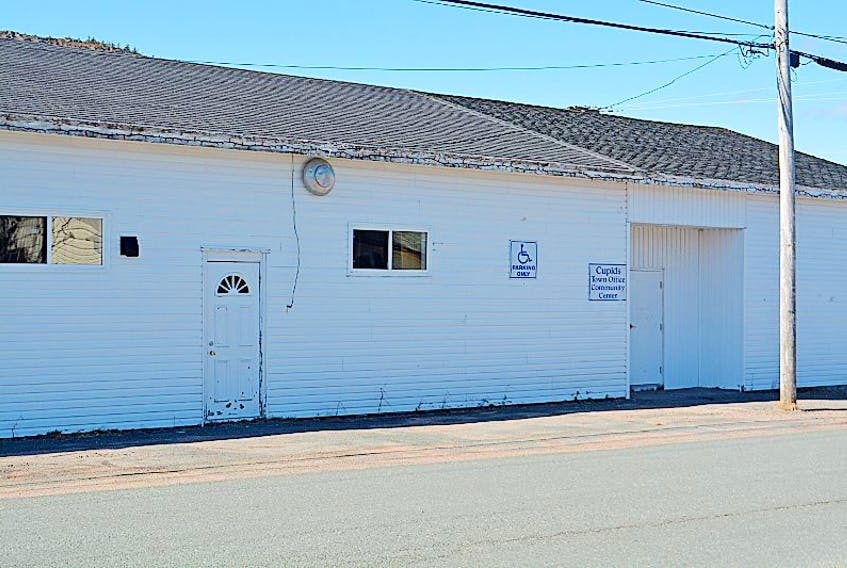 The Town of Cupids has been operating out of the Cupids Community Centre.