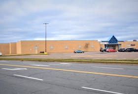 The end of the Truro Mall which would be effected by the application proposal for a multi-unit residential development.